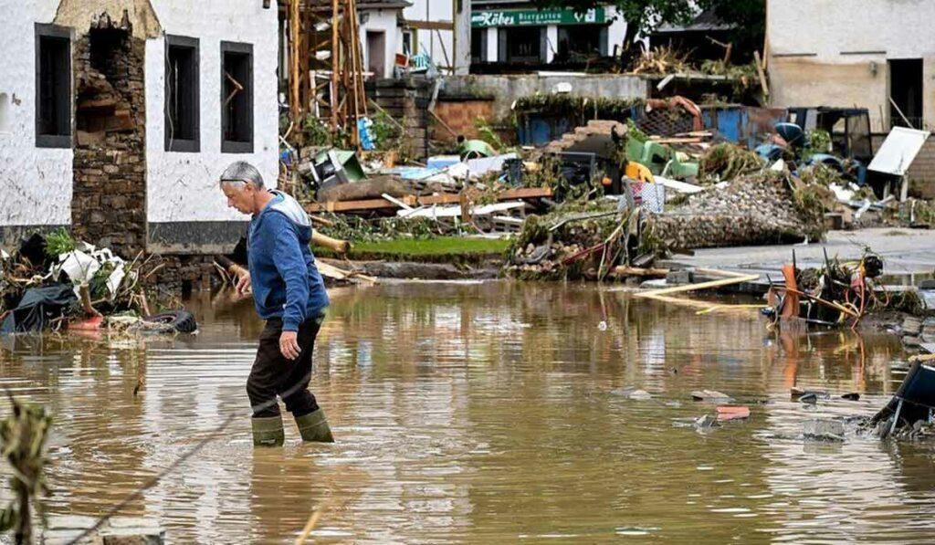 యూరోప్ దేశాల్లో వరదలు.. జర్మనీలో 80 మంది మృతి