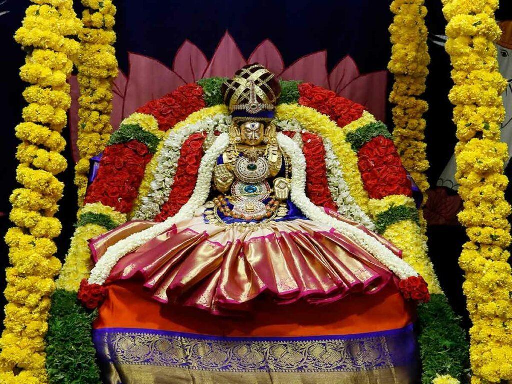 శ్రీ పద్మావతి అమ్మవారి ఆలయంలో ప్రారంభమైన పుష్ప మహాయాగం