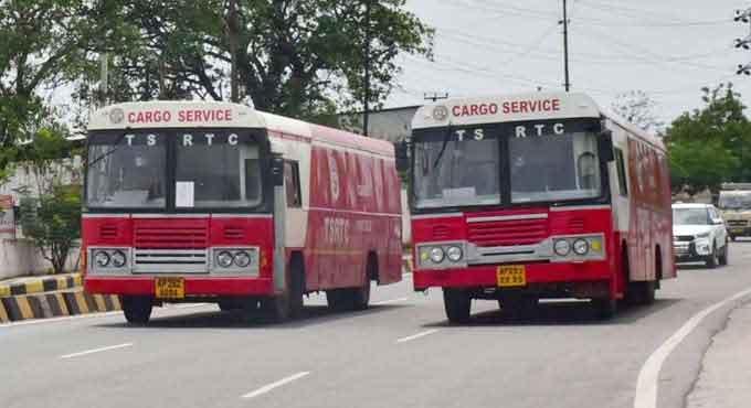 ఆర్టీసీ కార్గో.. శంషాబాద్ టు వైజాగ్
