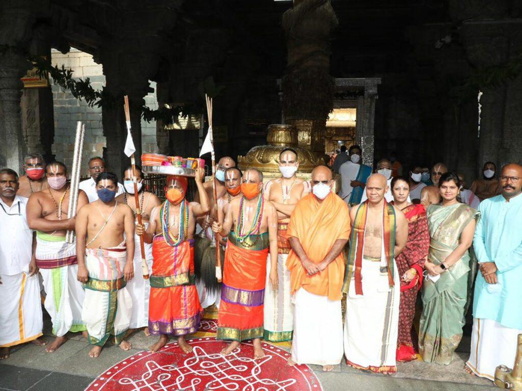 శ్రీవారి ఆలయంలో శాస్త్రోక్తంగా ఆణివార ఆస్థానం