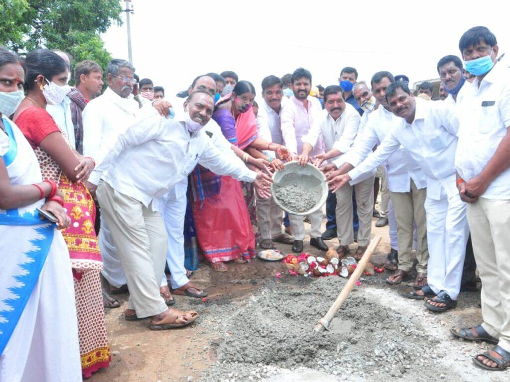 సీఎం కేసీఆర్ చొరవతోనే గ్రామాల అభివృద్ధి