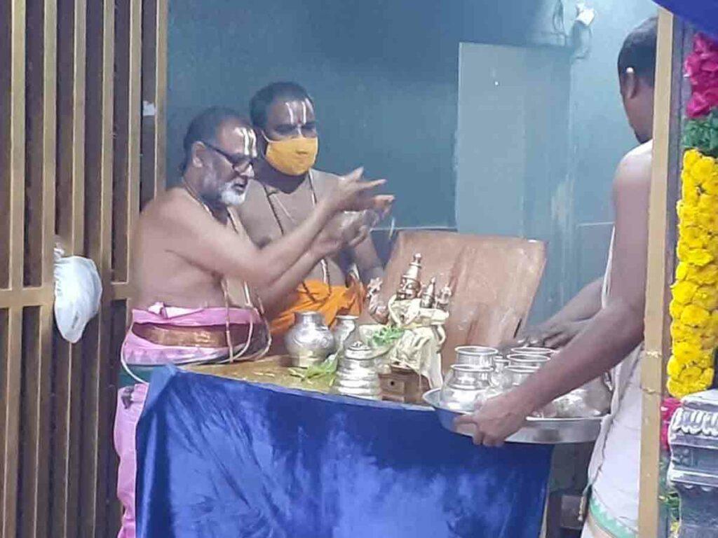 యాదాద్రిలో వైభవంగా స్వాతి నక్షత్ర పూజలు